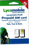 Lyca Mobile SIM-with Instant Spiff on $23, 30 Days Plan by TPP